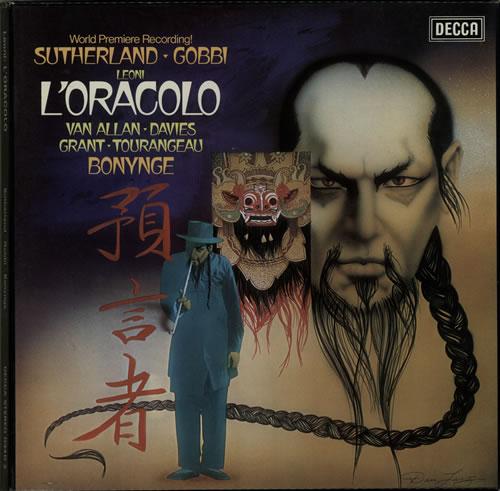 Franco Leoni L'Oracolo 2-LP vinyl record set (Double Album) UK FVJ2LLO639652