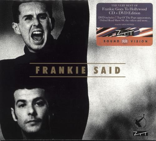 Frankie Goes To Hollywood Frankie Said 2-disc CD/DVD set UK FGT2DFR717697