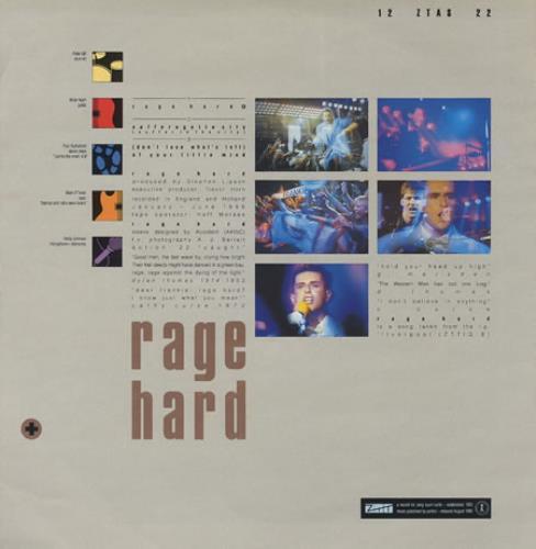 "Frankie Goes To Hollywood Rage Hard 12"" vinyl single (12 inch record / Maxi-single) UK FGT12RA24499"