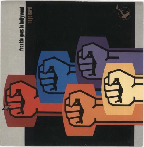 "Frankie Goes To Hollywood Rage Hard 7"" vinyl single (7 inch record) UK FGT07RA40628"