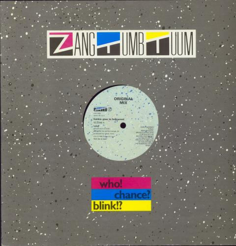 """Frankie Goes To Hollywood Relax - 16 Minute Mix/45 RPM 12"""" vinyl single (12 inch record / Maxi-single) UK FGT12RE01825"""