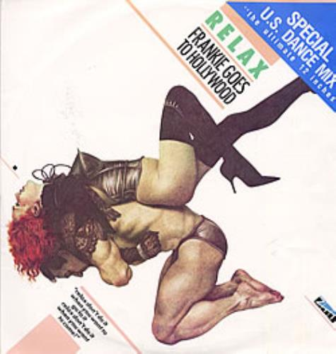 """Frankie Goes To Hollywood Relax - U.S. Dance Mix 12"""" vinyl single (12 inch record / Maxi-single) New Zealand FGT12RE32644"""