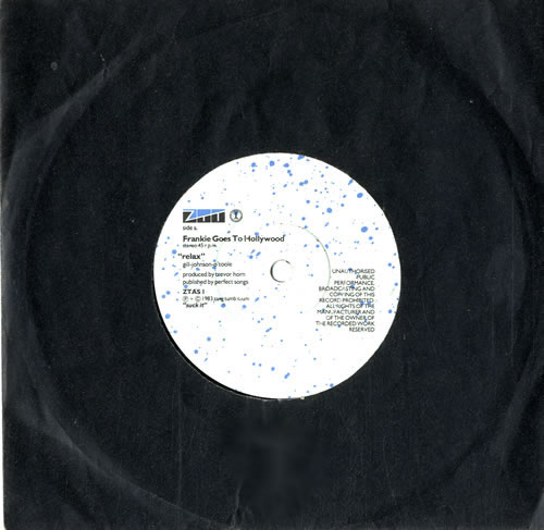 """Frankie Goes To Hollywood Relax 7"""" vinyl single (7 inch record) UK FGT07RE560280"""