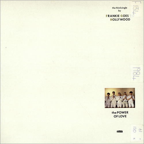 "Frankie Goes To Hollywood The Power Of Love - EX 12"" vinyl single (12 inch record / Maxi-single) UK FGT12TH310028"