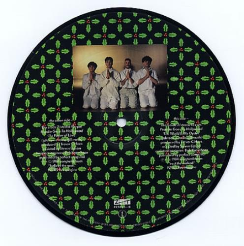 "Frankie Goes To Hollywood The Power Of Love 7"" vinyl picture disc 7 inch picture disc single UK FGT7PTH16236"