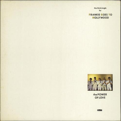 """Frankie Goes To Hollywood The Power Of Love 12"""" vinyl single (12 inch record / Maxi-single) UK FGT12TH21920"""