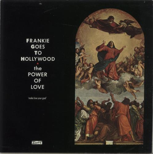 """Frankie Goes To Hollywood The Power Of Love 7"""" vinyl single (7 inch record) UK FGT07TH22071"""