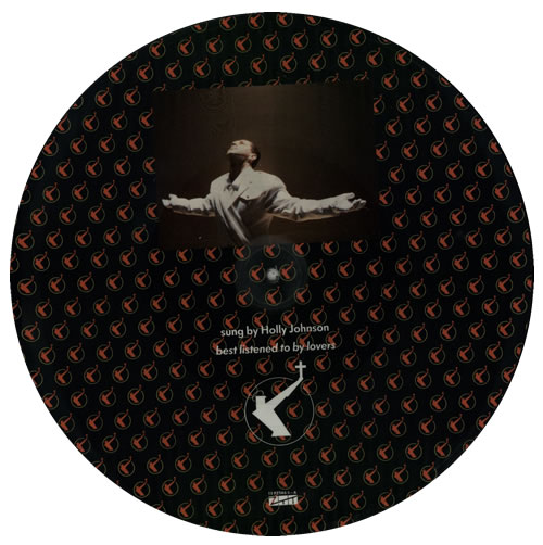 "Frankie Goes To Hollywood The Power Of Love 12"" vinyl picture disc 12inch picture disc record UK FGT2PTH05799"