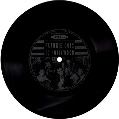 """Frankie Goes To Hollywood The Smash Hits Interviews 7"""" vinyl single (7 inch record) UK FGT07TH303496"""