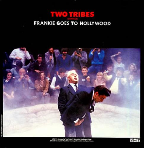 "Frankie Goes To Hollywood Two Tribes (Carnage) 12"" vinyl single (12 inch record / Maxi-single) UK FGT12TW07897"