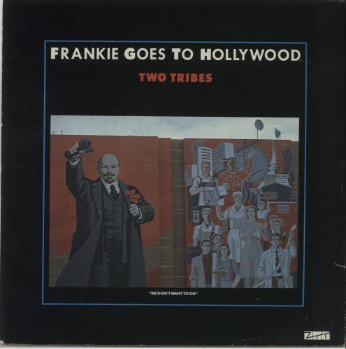 """Frankie Goes To Hollywood Two Tribes 7"""" vinyl single (7 inch record) UK FGT07TW40629"""