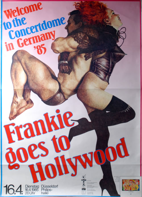 Frankie Goes To Hollywood Welcome To The Concertdome In Germany '85 poster German FGTPOWE589538