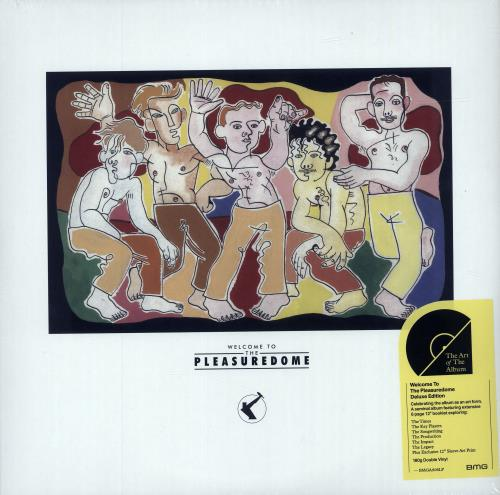 Frankie Goes To Hollywood Welcome To The Pleasuredome + Art Print - 180gram Vinyl 2-LP vinyl record set (Double Album) UK FGT2LWE684015