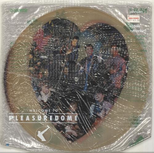 Frankie Goes To Hollywood Welcome To The Pleasuredome - Sealed picture disc LP (vinyl picture disc album) UK FGTPDWE691258