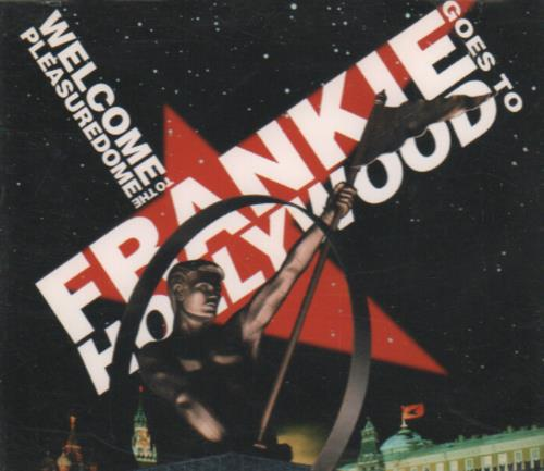 "Frankie Goes To Hollywood Welcome To The Pleasuredome CD single (CD5 / 5"") German FGTC5WE23069"