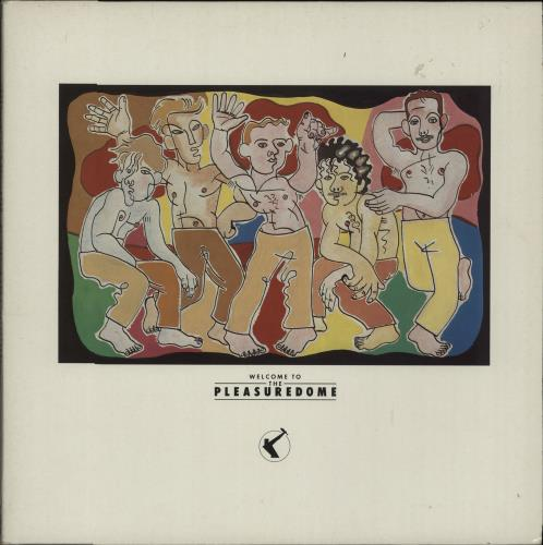 Frankie Goes To Hollywood Welcome To The Pleasuredome 2-LP vinyl record set (Double Album) UK FGT2LWE27843