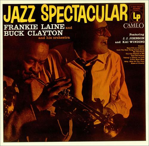 Frankie Laine Jazz Spectacular vinyl LP album (LP record) UK FRLLPJA437756