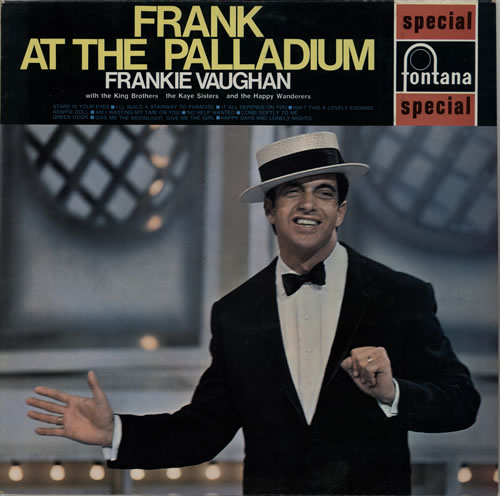 Frankie Vaughan Frank At The Palladium vinyl LP album (LP record) UK KVULPFR575001