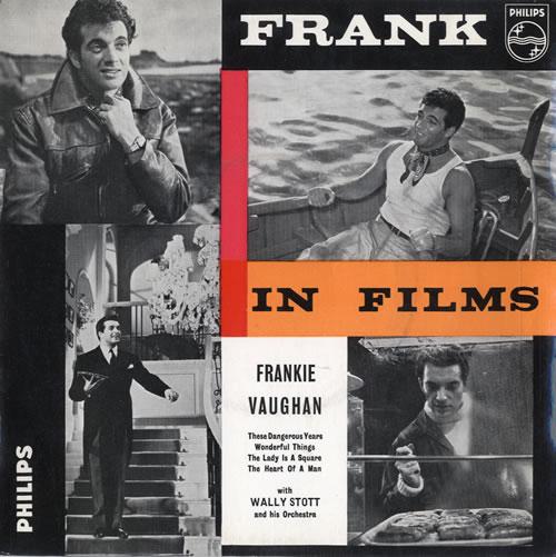 "Frankie Vaughan Frank In Films 7"" vinyl single (7 inch record) UK KVU07FR565343"