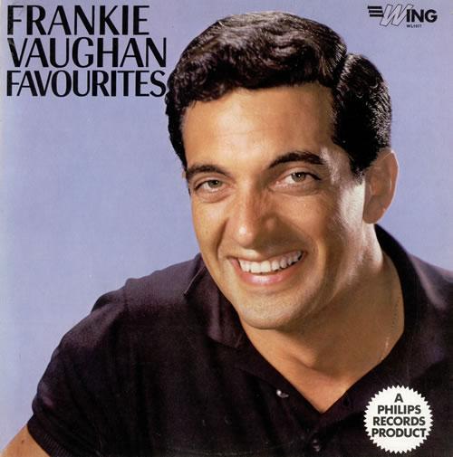 Frankie Vaughan Frankie Vaughan Favourites vinyl LP album (LP record) UK KVULPFR479958