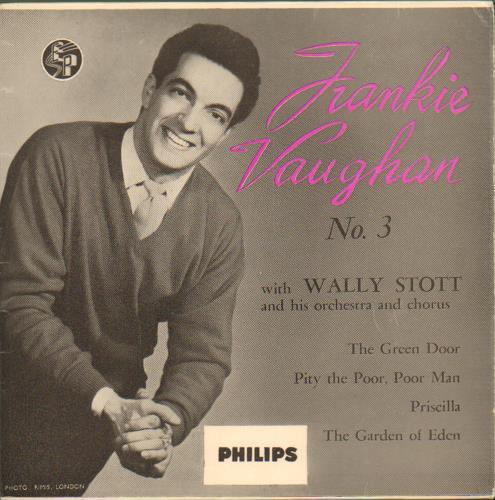 """Frankie Vaughan Frankie Vaughan No. 3 7"""" vinyl single (7 inch record) UK KVU07FR663596"""