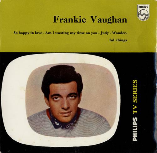 """Frankie Vaughan Frankie Vaughan 7"""" vinyl single (7 inch record) UK KVU07FR548954"""