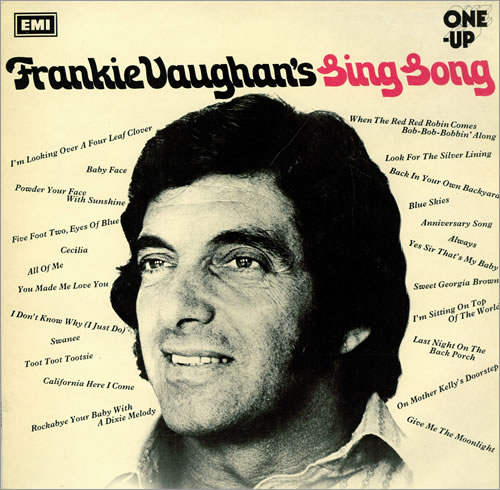 Frankie Vaughan Frankie Vaughan's Sing Song vinyl LP album (LP record) UK KVULPFR461451