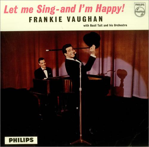 Frankie Vaughan Let Me Sing - And I'm Happy! - Factory Sample vinyl LP album (LP record) UK KVULPLE457053