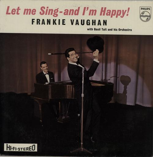 Frankie Vaughan Let Me Sing - And I'm Happy vinyl LP album (LP record) UK KVULPLE574961