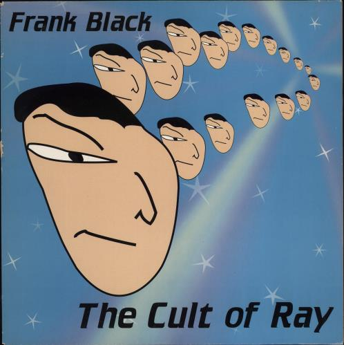 Frank Black The Cult Of Ray - EX + Flyers vinyl LP album (LP record) UK FBKLPTH776768