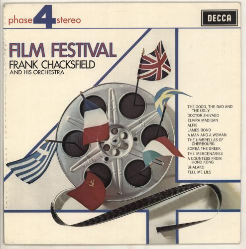 Frank Chacksfield Film Festival vinyl LP album (LP record) UK FCLLPFI734905