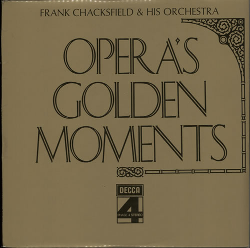 Frank Chacksfield Opera's Golden Moments vinyl LP album (LP record) UK FCLLPOP640918