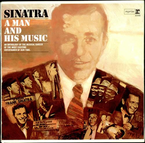 Frank Sinatra A Man And His Music - EX 2-LP vinyl record set (Double Album) UK FRS2LAM504814