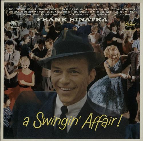 Frank Sinatra A Swingin' Affair vinyl LP album (LP record) Dutch FRSLPAS624741