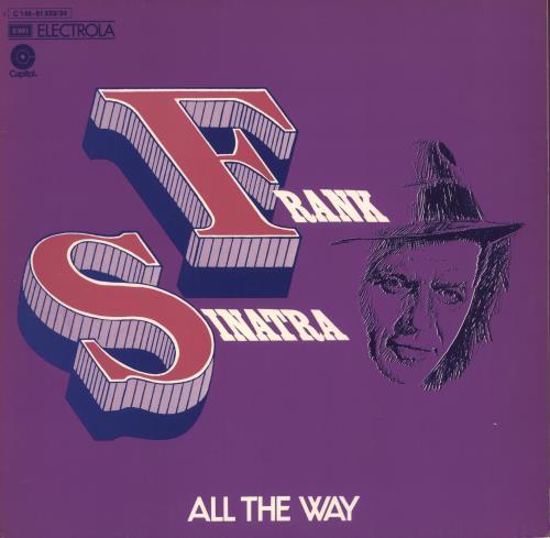 Frank Sinatra All The Way 2-LP vinyl record set (Double Album) German FRS2LAL723663