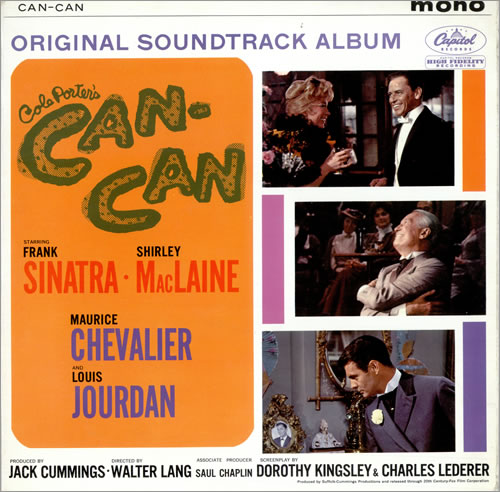 Frank Sinatra Can-Can Soundtrack vinyl LP album (LP record) UK FRSLPCA477031