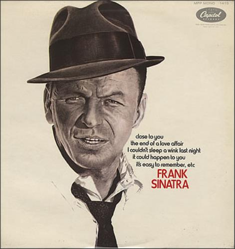 Frank Sinatra Close To You vinyl LP album (LP record) UK FRSLPCL382418