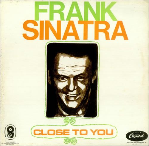 Frank Sinatra Close To You vinyl LP album (LP record) UK FRSLPCL445383