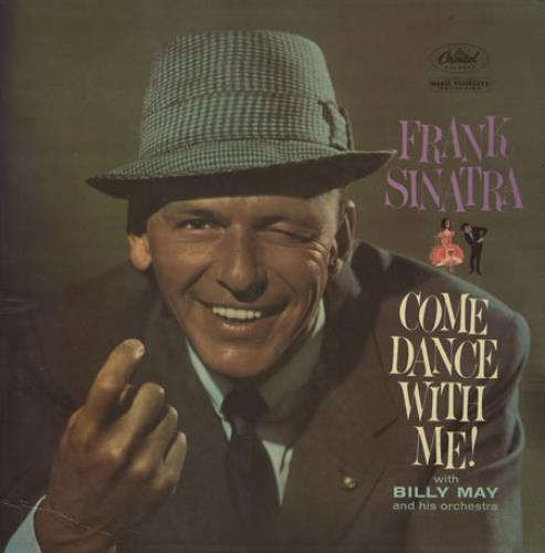 Frank Sinatra Come Dance With Me vinyl LP album (LP record) Mexican FRSLPCO246933