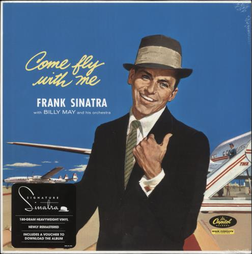 Frank Sinatra Come Fly With Me - 180gm Vinyl - Sealed vinyl LP album (LP record) UK FRSLPCO732738