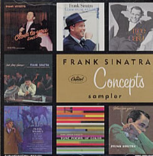 Frank Sinatra Concepts Sampler CD album (CDLP) US FRSCDCO210230