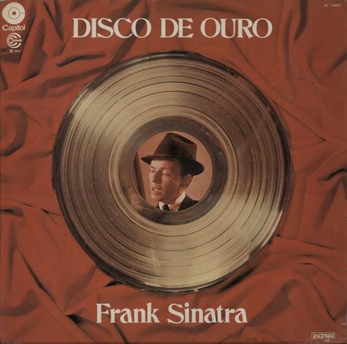 Frank Sinatra Disco De Ouro vinyl LP album (LP record) Brazilian FRSLPDI581047
