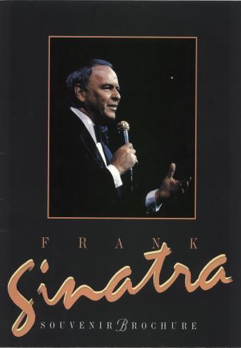 Frank Sinatra Frank Sinatra 1992 Souvenir Brochure tour programme UK FRSTRFR730965