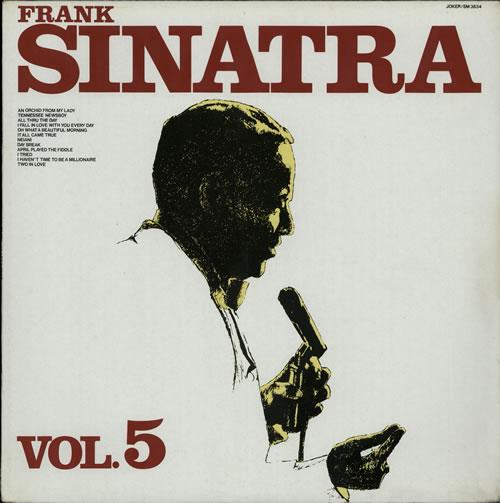 Frank Sinatra Frank Sinatra Vol.5 vinyl LP album (LP record) Italian FRSLPFR580376