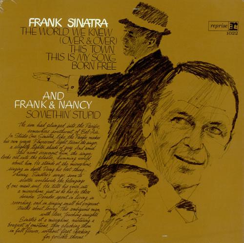 Frank Sinatra Frank Sinatra vinyl LP album (LP record) UK FRSLPFR474886