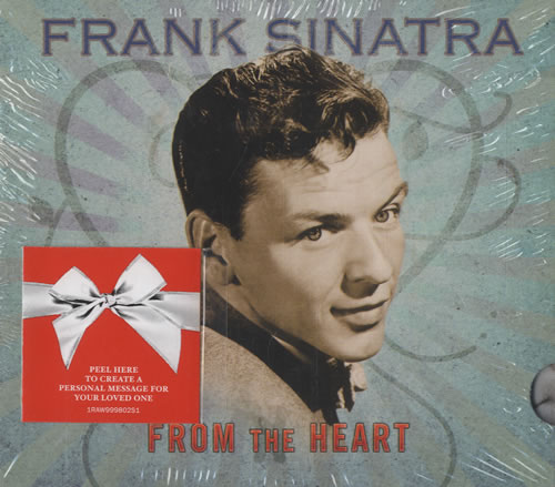 Frank Sinatra From The Heart CD album (CDLP) US FRSCDFR462750