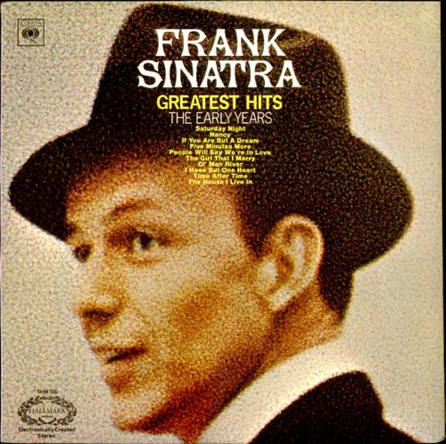 Frank Sinatra Greatest Hits - The Early Years vinyl LP album (LP record) UK FRSLPGR522984