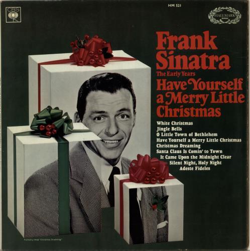 Frank Sinatra Have Yourself A Merry Little Christmas vinyl LP album (LP record) UK FRSLPHA345991
