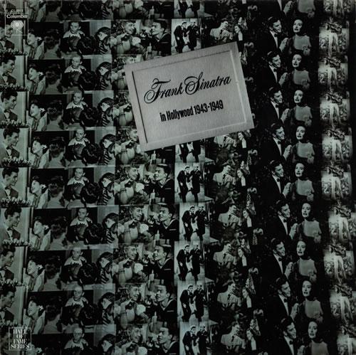 Frank Sinatra In Hollywood 1943-1949 vinyl LP album (LP record) US FRSLPIN580900