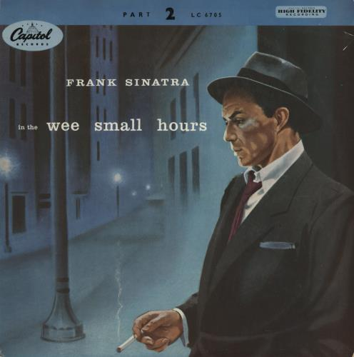"""Frank Sinatra In The Wee Small Hours Parts 1 & 2 10"""" vinyl single (10"""" record) UK FRS10IN749296"""